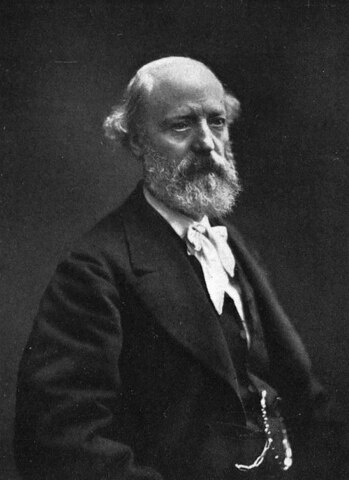 Eugène Viollet-le-Duc. (1814-1879).