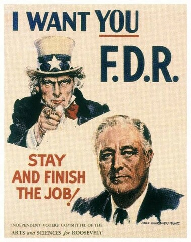 FDR's Third and Forth Term