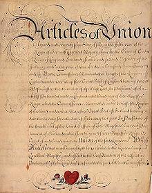 Ingalaterra eta Eskoziaren batasuna: Britania handia