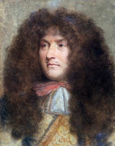 Luis XIV. hil