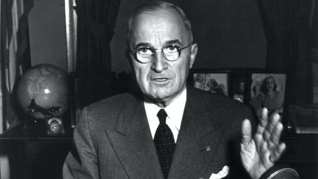 Truman orders U.S. military intervention in Korea,