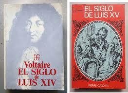 Voltaire: Luis XV.aren mendea