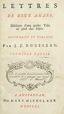J.J. Rousseau: Eloisa berria