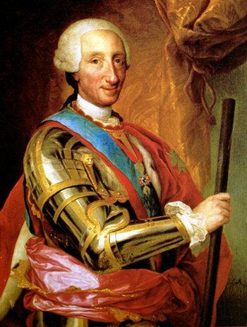 Karlos III. Espainiako errege.