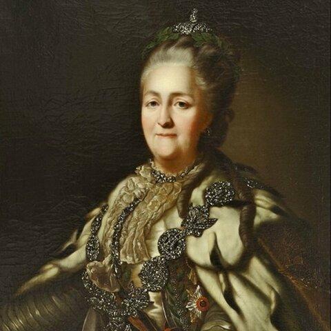 Katalina II. Errusiako Enperatriza.