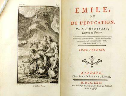 J.J. Rousseau: Emilio.