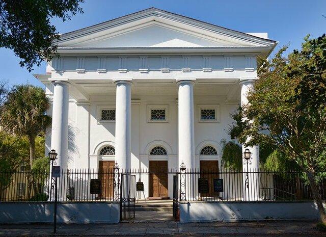 Charleston FBC – First Baptist church in the South