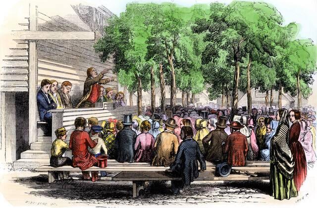 John Taylor's preaching begins Second Great Awakening