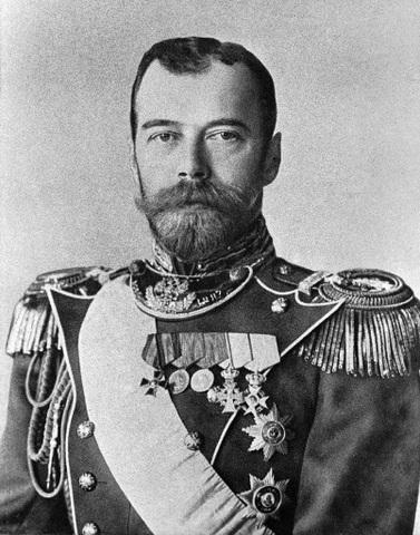 Abdicació del Tsar Nicolas II