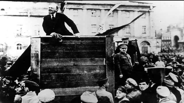 Exposició de les Tesis d'Abril de Lenin