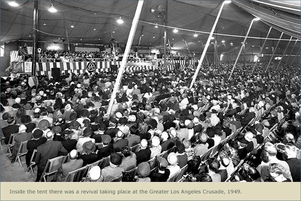 Billy Graham Crusade in Los Angeles