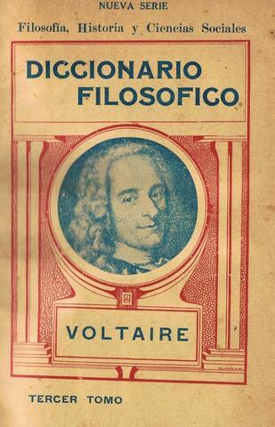 Voltaire: Filosofia hiztegia.