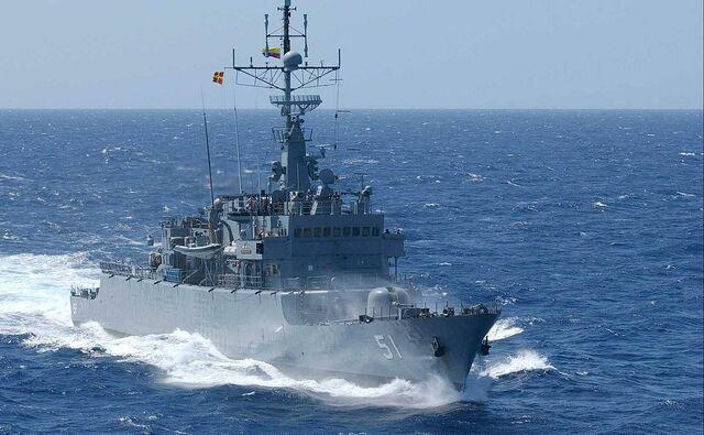 "Fragata ARC ""Almirante Padilla"""