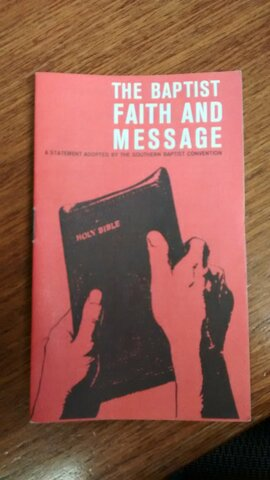 Baptist Faith and Message Revised