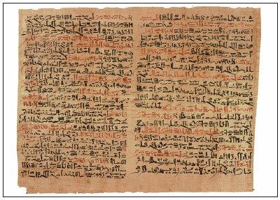 Desciframiento del papiro de Edwin Smith.