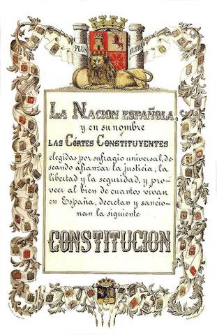 La Constitución española de 1869