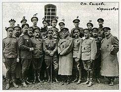 El golpe de Estado de Kornílov