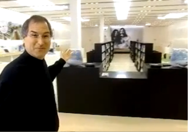 The First iPod and Retail Store