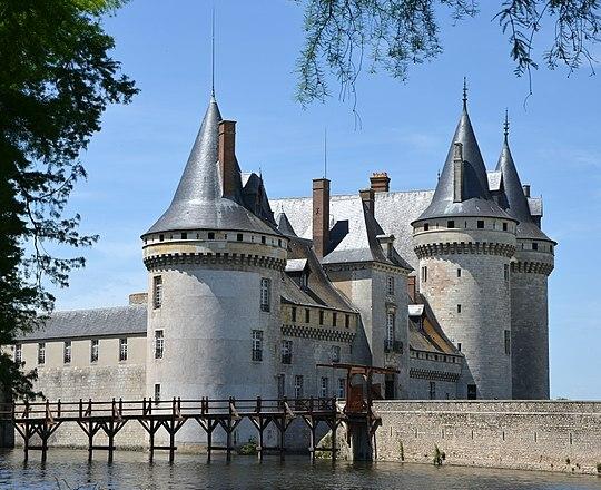 Castillo de Sully-sur-Loire.