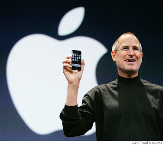 Apple buys Jobs's new company, returning him to his former company.