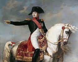 Napoleonek boterea hartu Frantzian