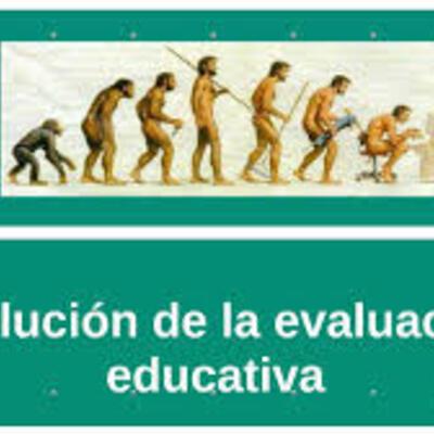 LA EVOLUCION DE LA EVALUACION timeline