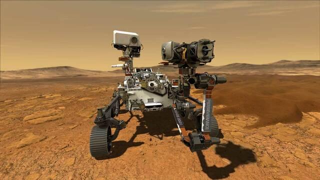 Mars 2020 Rover (Perseverance)