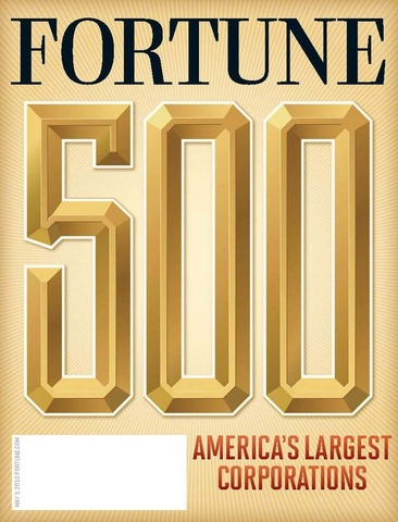 Apple enters the Forbes Fortune 500 at spot #411.