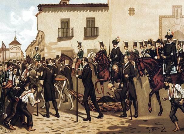 Pronunciamiento of Colonel Rafael del Riego