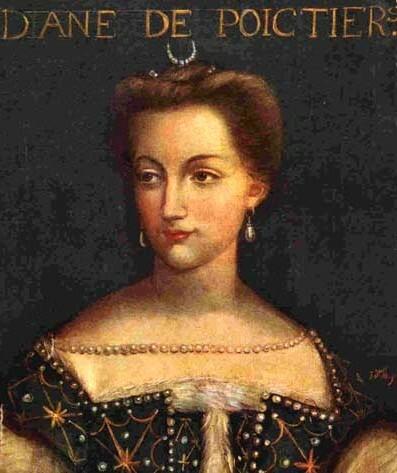 Diana de Poitiers. (1500-1566).
