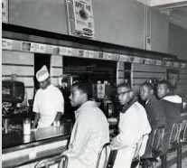 The Greensboro Four Lunch Counter Sit-In