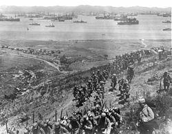 La batalla de Galípoli