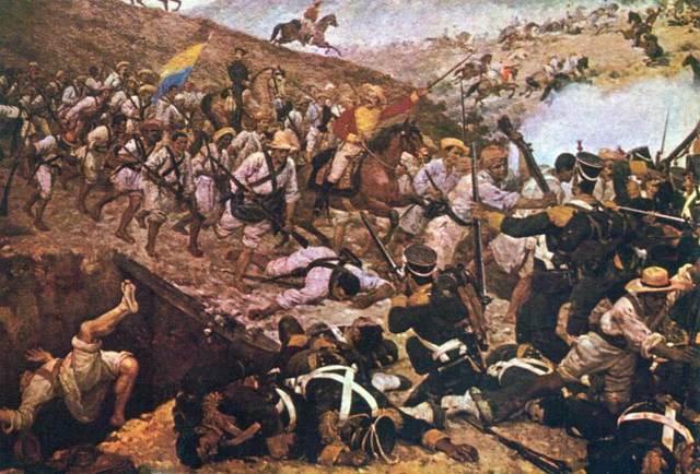 Vicente Guerrero derrotado