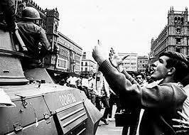 Marcha convocada por el Consejo Nacional de Huelga.