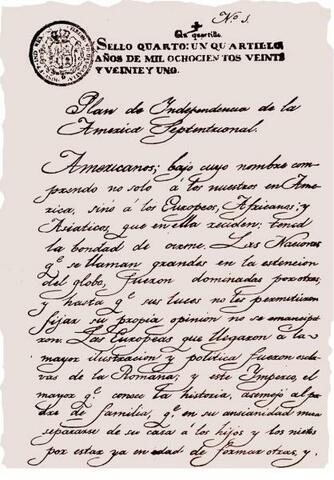 Nueva España Independiente (Plan de Iguala)