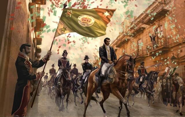 Consumación de la Independencia Mexicana.