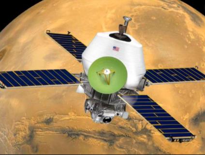 Mariner 9 (Mars Orbiter)