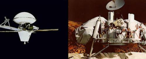 Viking 1 and 2 (Mars Orbiter and Lander)