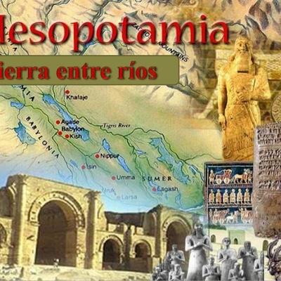 Línea del tiempo - Mesopotamia timeline