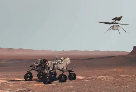 Perseverance and Ingenuity (Rover and Helicopter)