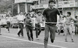 Primera manifestación después de la Masacre de Tlatelolco