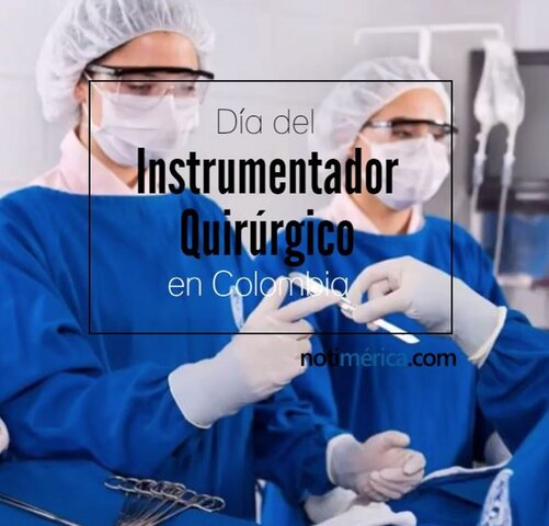 Dia nacional de la instrumentadora quirúrgica en Colombia