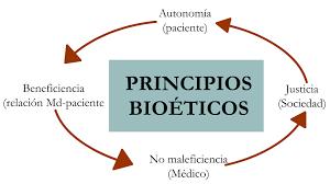 Aplicación de los principios de bioética