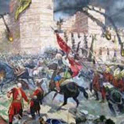 Άλωση της Κωνσταντινούπολης timeline