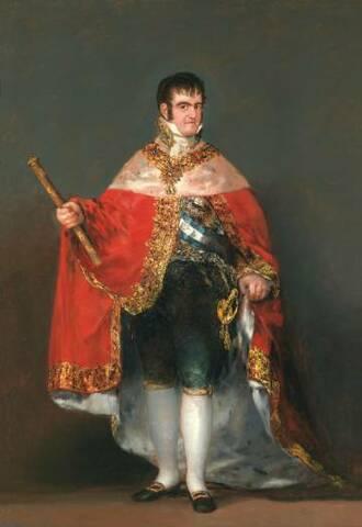 La restauració de l´absolutisme i Ferran VII
