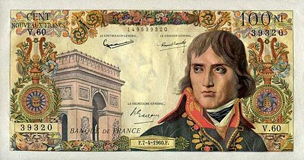 Francia Nemzeti Bank, frank