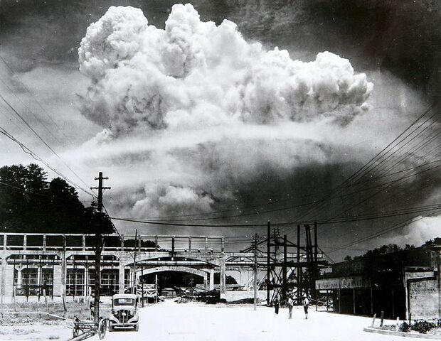 US drops two atomic bombs on Japan