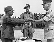 Japan surrenders and the war is over