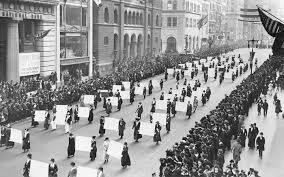 Manifestaciones de mujeres