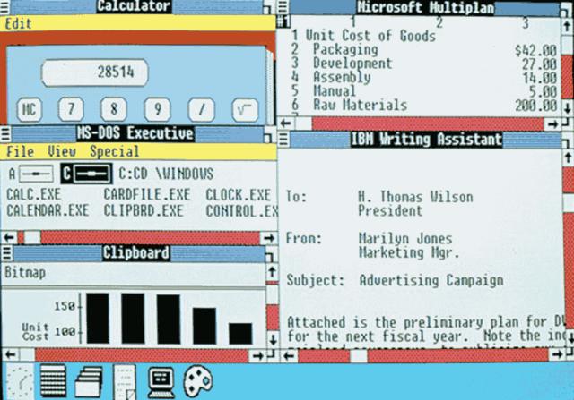Windows 2.0 - 2.11